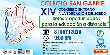 Congreso en torno a la Educación del Sordo Puertorriqueño boletos