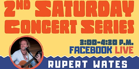 2nd Saturday Concert Series: Rupert Wates tickets