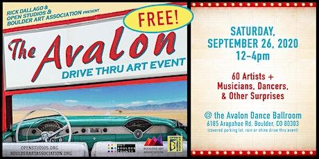 Avalon Drive-Thru Art Event (Free!) tickets