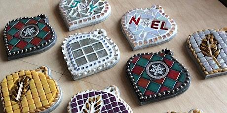 Mosaic Christmas Ornaments tickets