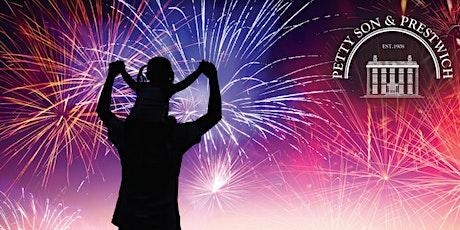 Eton Manor Fireworks 2020 tickets