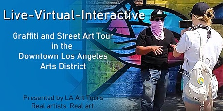Free LIVE-VIRTUAL Graffiti and Mural tour of Los Angeles tickets