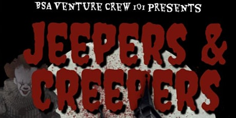 Jeepers & Creepers!  Haunted Tour & Poker Chip Run tickets