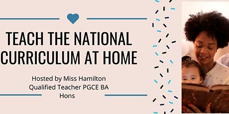 How to teach  the  National Curriculum at Home tickets