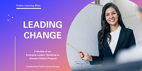 Leading Change Successfully (Online - Run 3) tickets