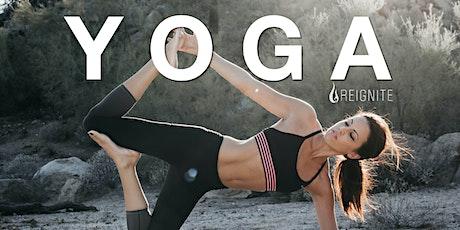 Reignite Detox Yoga tickets