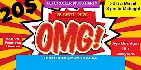 OMG ! FETE ROLLER DISCO PARTY tickets