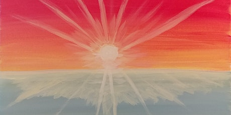 """Virtual Paint Party """"Bright Sunrise"""" with Creatively Carrie! tickets"""