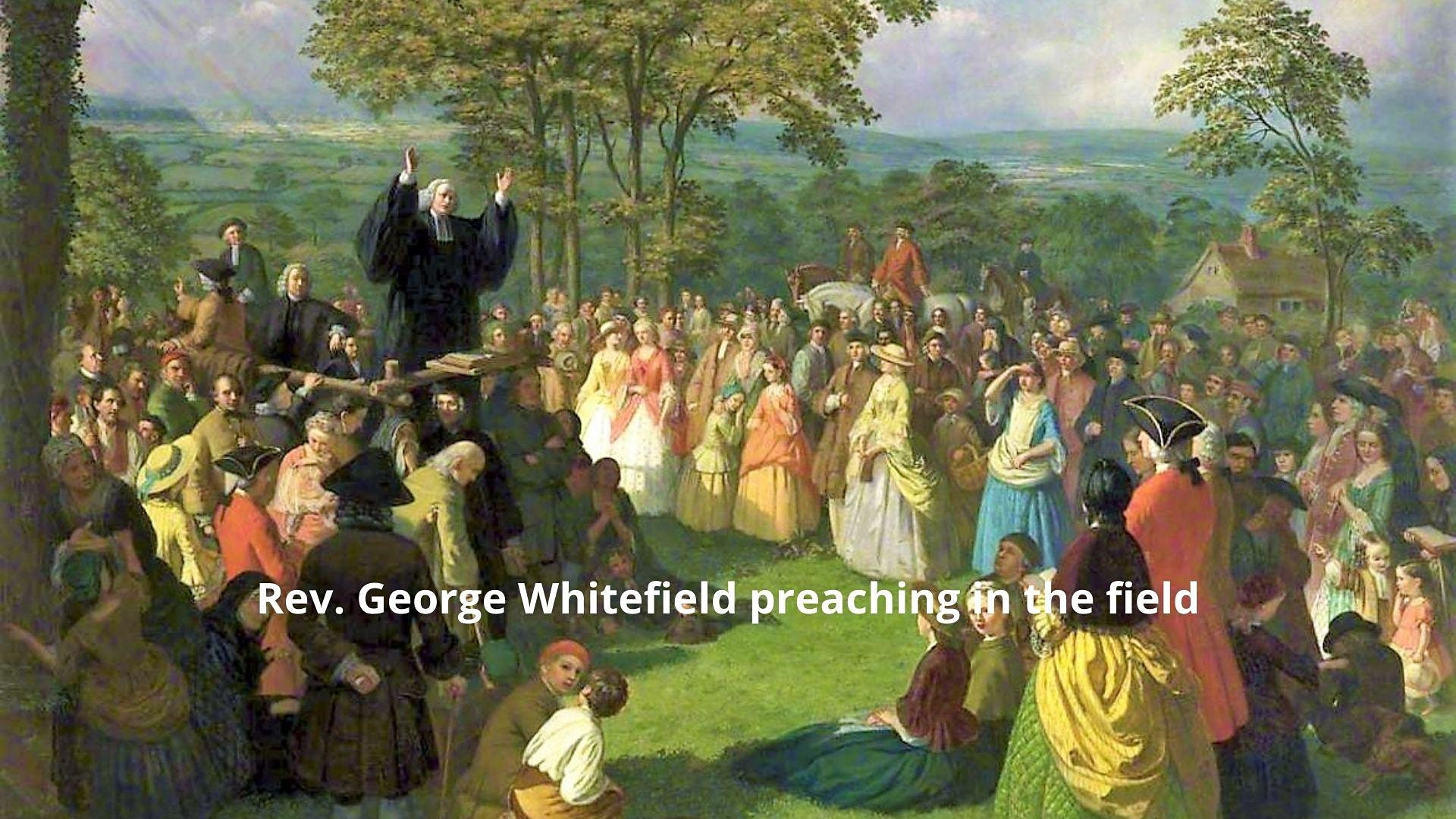 Worship service to commemorate the life, legacy and ministry of George Whitefield. Tom Schwanda, Mark Noll, Sean McGever. Paul Detterman.
