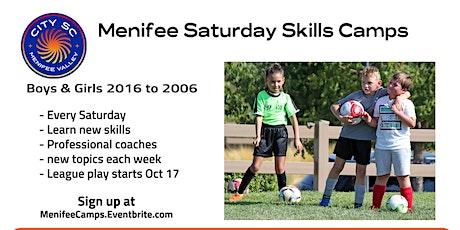 Menifee Saturday Skills Camps tickets