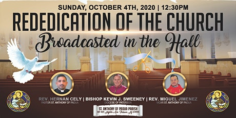Rededication of St. Anthony of Padua Parish tickets