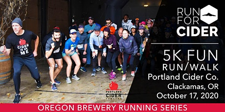 Portland Cider Co 5k Fun Run tickets