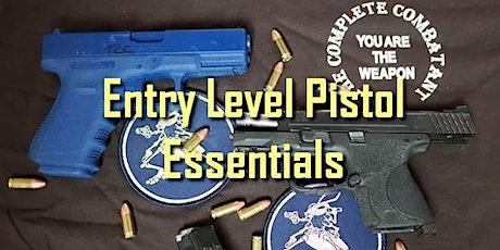March 2021 Entry Level Pistol Essentials tickets