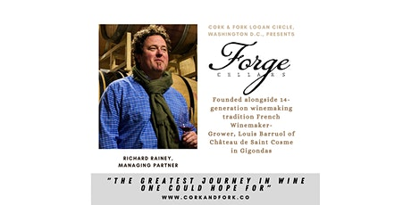Forge Cellars: Richard Rainey, Managing Partner tickets