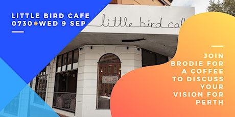 Meet and Greet @ Little Bird Cafe tickets