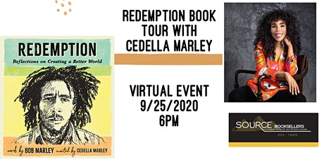 Redemption: Creating a Better World Tour with Cedella Marley tickets