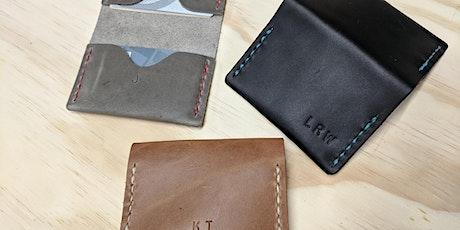 DIY Leathercraft Class - Bifold Wallet tickets