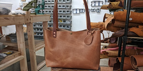 DIY Leathercraft Class - Personalized Tote Bag tickets