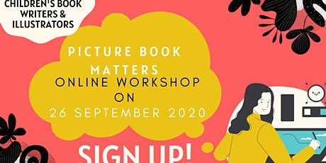 Picture Book Matters Online Workshop: Telling Stories with Words & Pictures tickets