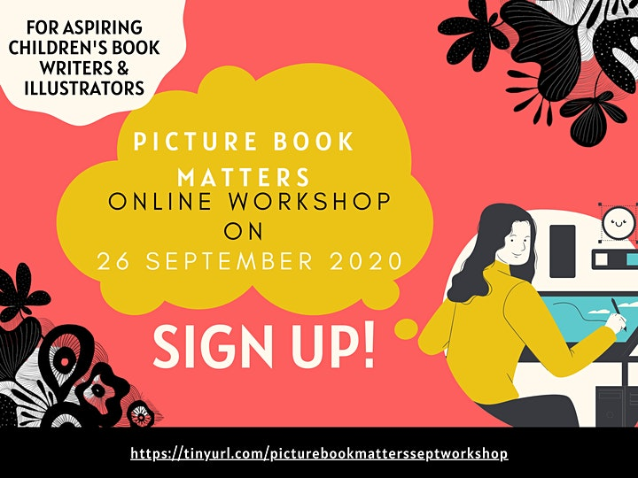 Picture Book Matters Online Workshop: Telling Stories with Words & Pictures image