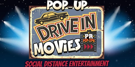 "PR Pop-Ups  ""FRIGHT NIGHT"" Drive-In tickets"