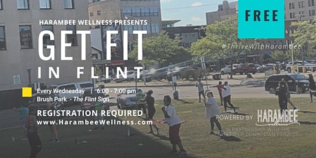 Get Fit In Flint - Free Fitness Class tickets