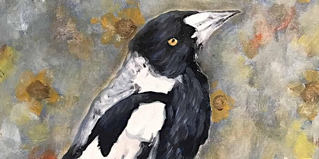 Acrylic Painting - MAGPIE (Paint and Sip) tickets