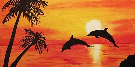 "Paint and Sip - ""Dolphins Jumping""  Gaslamp San Diego tickets"