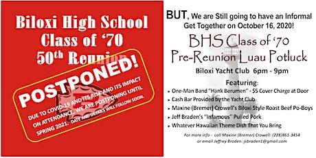 Biloxi High School Class of '70 - 50th Class Reunion tickets