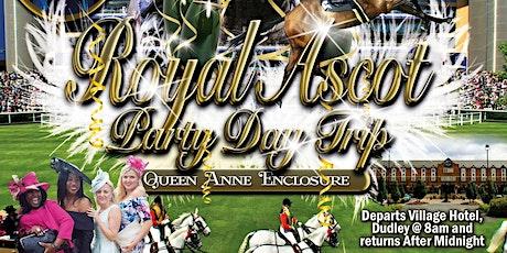 VIP STUSH: Royal Ascot Party Day Trip 2021 tickets