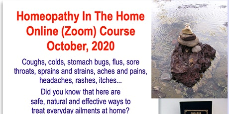 Homeopathy in the Home online course tickets