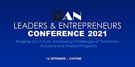 OAN Leaders and Entrepreneurs Conference 2021 tickets