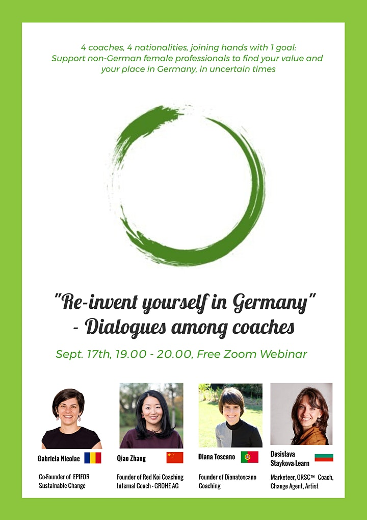 Dialogues among coaches: Re-invent yourself in Germany #1: Bild