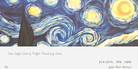 Van Gogh Starry Night Painting Class tickets
