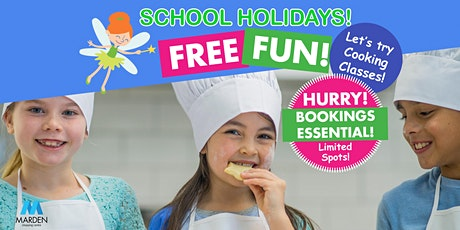 FREE School Holiday Fun! Sprout Cooking Classes at Marden Shopping Centre tickets