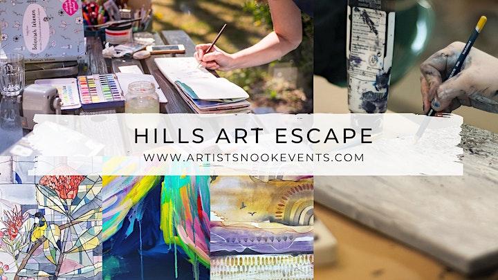 Hills Art Escape Full Day Retreat image