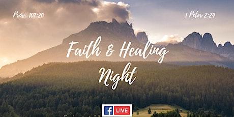 Faith & Healing Night tickets