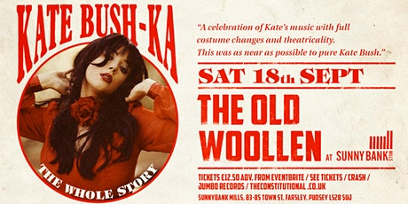 Kate Bush-Ka tickets