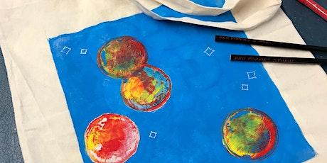 Tote Bag Design & Paint Workshop tickets