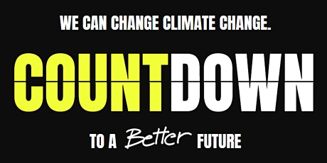 TED Countdown - We can change Climate Change tickets