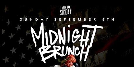 Midnight Brunch 2200 tickets