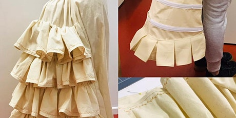 The Victorian Bustle Petticoat Workshop tickets
