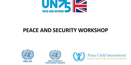 THE PEACE AND SECURITY  WORKSHOP tickets