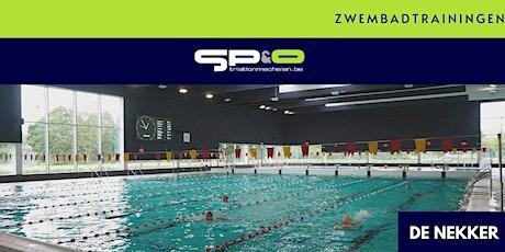SP&O Zwemtraining maandag-laat V3 Nekkerpool tickets
