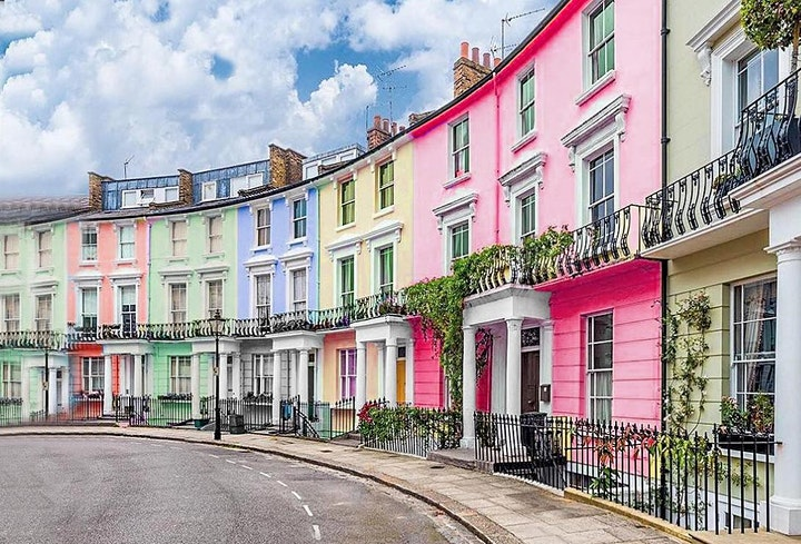 Colourful Notting Hill Photo Tour image
