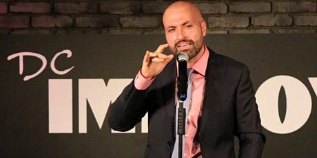 Draughts & Laughs 5 at Checkerspot Brewing Co - headliner Rahmein Mostafavi tickets