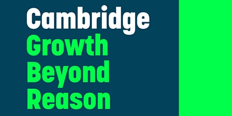 Cambridge Growth Without Reason; In Discussion with David Plank tickets