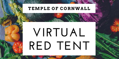 Temple of Cornwall Red Tent - October Harvest Full Moon Gathering - Virtual tickets