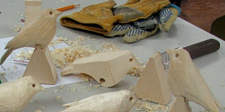 Snow Bunting: One-Day Carving Class with Dave Tuttle tickets