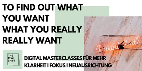 THE REAL SHIFT DIGITAL MASTERCLASSES Tickets
